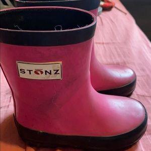 🌈Stonz rain boots